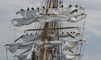 Coast Guard Cutter Eagle Opsail 2012 Poster