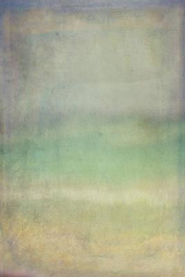 Coastal Abstract Poster by Ramona Murdock