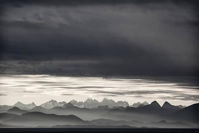 Coastal British Columbia Poster by Carol Leigh