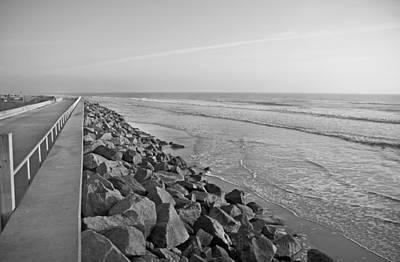Coastal Lines Poster by Betsy Knapp