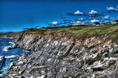 Poster featuring the photograph Coastal Nova Scotia by Joe  Ng