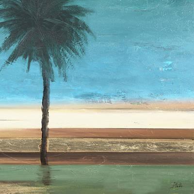 Coastal Palms IIi Poster by Patricia Pinto