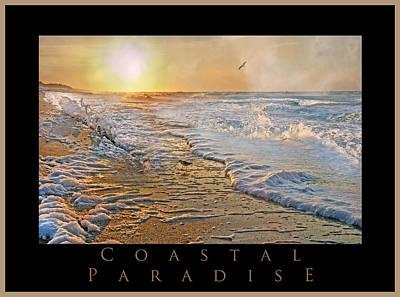 Coastal Paradise Poster by Betsy Knapp