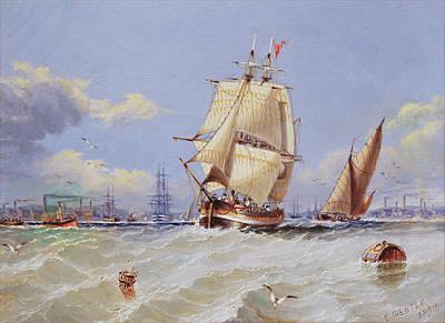 Coastal Scene Poster