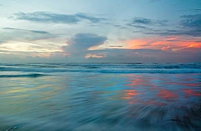 Coastal Shift Poster by Betsy Knapp