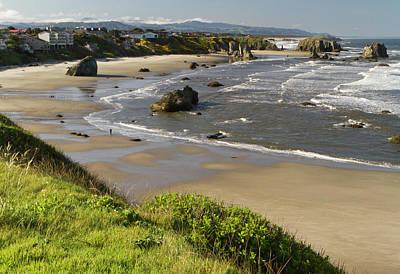 Coastal Views, Bandon, Oregon Poster