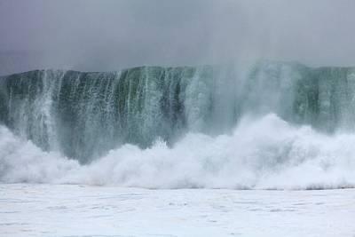 Coastal Wave During Typhoon Usagi Poster