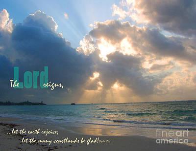 Coastlands Be Glad Poster