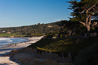 Coastline, Carmel Beach Poster by Panoramic Images