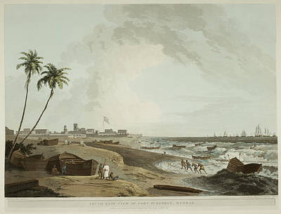 Coastline Of Hindustan Poster