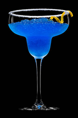 Cobalt Cocktail Poster