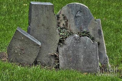 Cobbs Hill Burial Ground 3 Poster by Deborah Smolinske