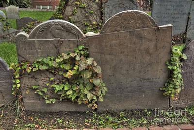 Cobbs Hill Burial Ground 5 Poster by Deborah Smolinske