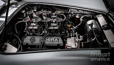 Poster featuring the photograph Cobra Engine by Matt Malloy