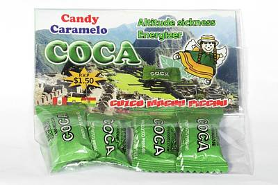 Coca Candies From Peru Poster by Dr Morley Read