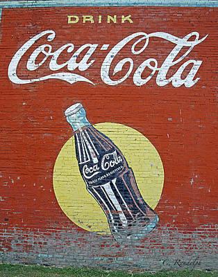 Coca-cola Poster by Cheri Randolph