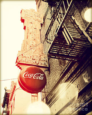 Coca Cola Poster by Chris Andruskiewicz