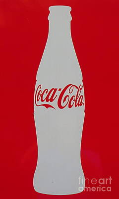 Coca Cola Graphic Bottle Photo. Poster