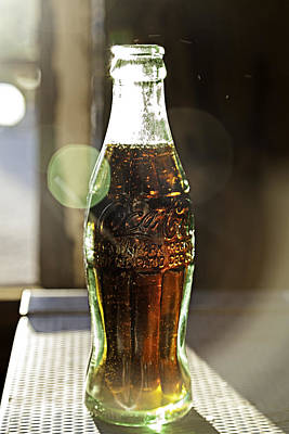Poster featuring the photograph Coca-cola In The Light Of Day by James Sage