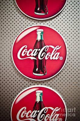 Coca-cola Poster by Jessica Berlin