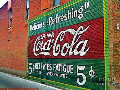 Coca Cola Poster by PainterArtist FIN