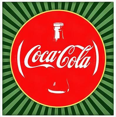Coca Cola Pop Art  Poster