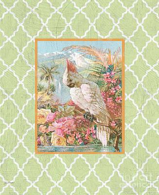 Cockatiel Beauty-b Poster by Jean Plout