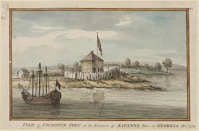 Cockspur Fort Poster by British Library