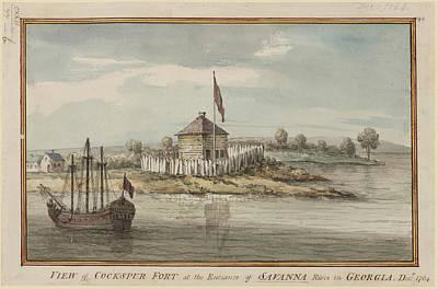 Cockspur Fort Poster