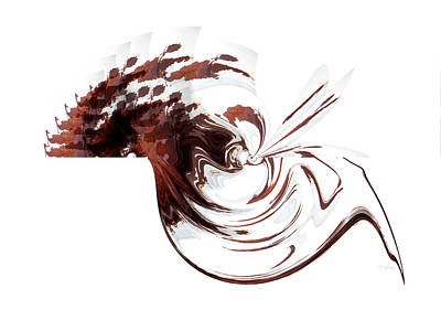Cocoa Marshmallow Swirl Poster