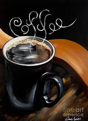 Coffee Break Poster by Dani Abbott