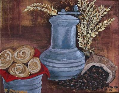 Coffee Grinder Poster by Sharon Duguay