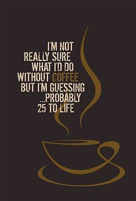 Coffee Mania Poster