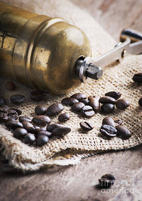 Coffee Mill Poster by Jelena Jovanovic