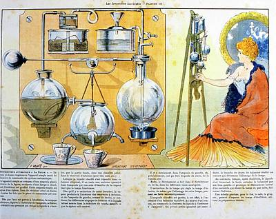 Coffee Or Tea Making Machine Poster by Universal History Archive/uig
