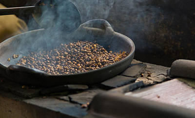 Poster featuring the photograph Coffee Roasting - Bali by Matthew Onheiber