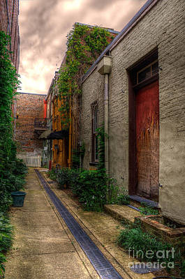 Poster featuring the photograph Coggin's Alley Way by Maddalena McDonald