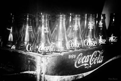 Poster featuring the photograph Cola Crate by Yvonne Emerson AKA RavenSoul