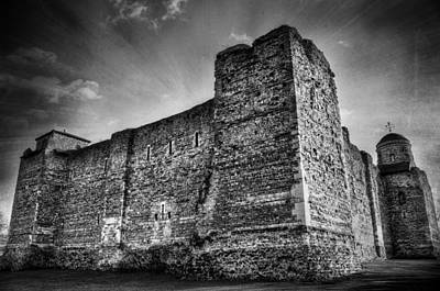 Colchester Castle Poster by Svetlana Sewell