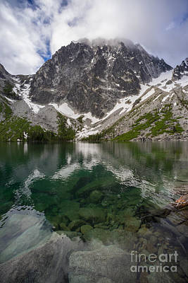 Colchuck Lake Clarity Poster by Mike Reid