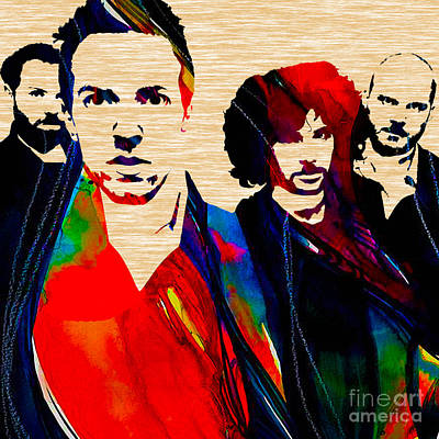 Coldplay Collection Poster