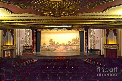 Poster featuring the photograph Coleman Theatre by Utopia Concepts