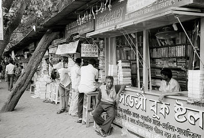 College Street Calcutta  Poster
