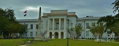 Colleton County Courthouse Poster by Bob Sample