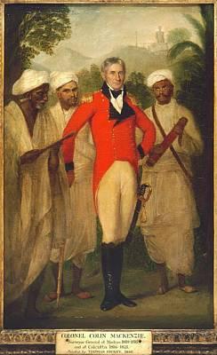 Colonel Colin Mackenzie Poster