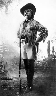 Colonel William F Cody Poster