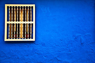 Colonial Window Poster