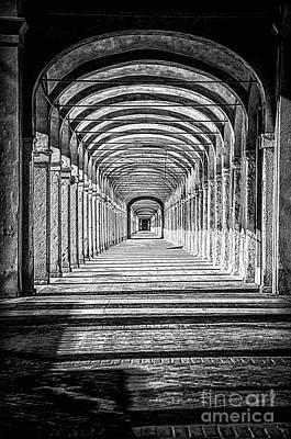Colonnato Dei Cappuccini Poster by Traven Milovich