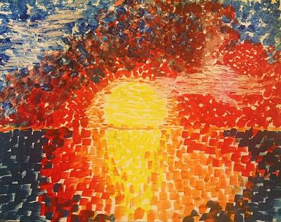 Color In The Sky Poster by Eloisa Bevilacqua