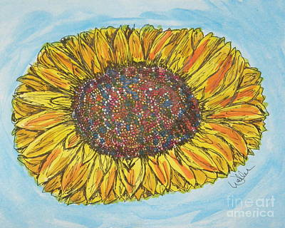 Color Me Sunshine Poster by Marcia Weller-Wenbert